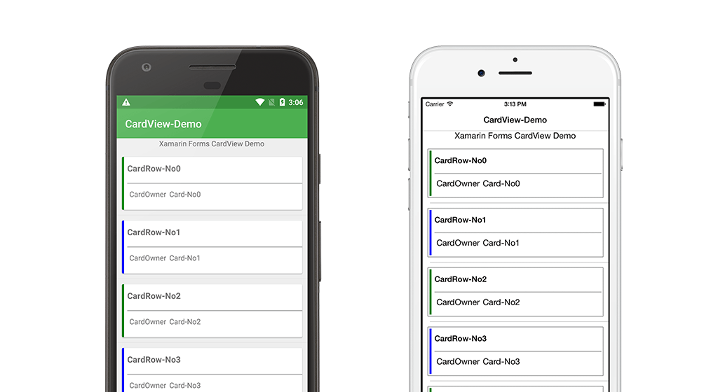 Xamarin Forms Cardview C Xaml Blogs